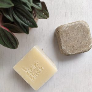 duo shampoing solide et savon à froid